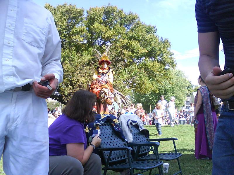 puppets at Lotus