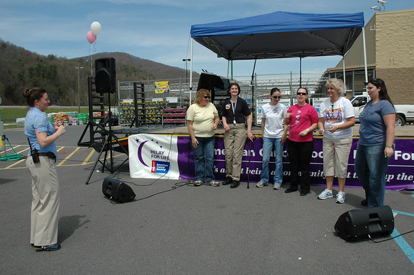 Relay For Life Event at Walmart