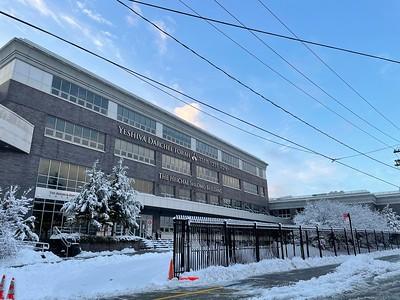 Yeshiva in the Snow