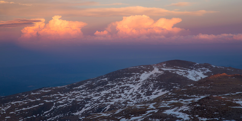 Evening Colors from Mount Evans