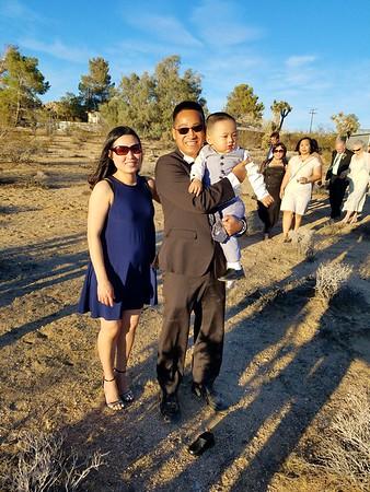 Joshua Tree Julie's Wedding Oct 2016