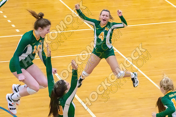 King Philip-Quincy Volleyball - 11-06-19