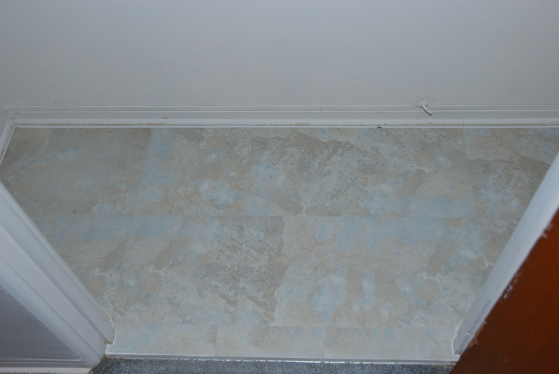 This is just a closet I used peel-n-stick tiles on.