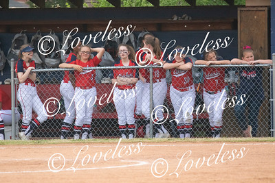 Softball vs Siegel Middle 4/11/19
