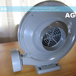 SKU: AG-FAN, Generic 220V 550W Extraction Fan with 150mm Inlet/Outlet Diameter
