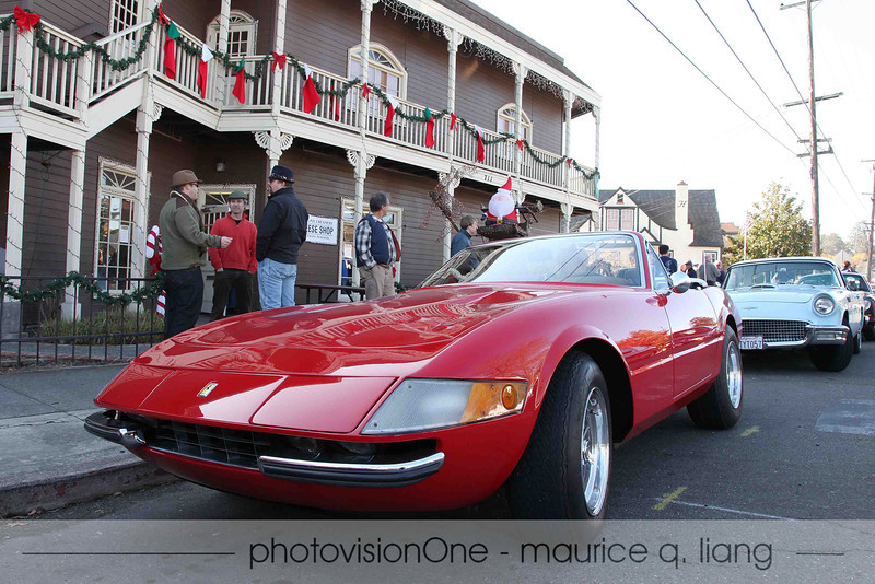 My favorite car in the group, a Ferrari Daytona Spider.