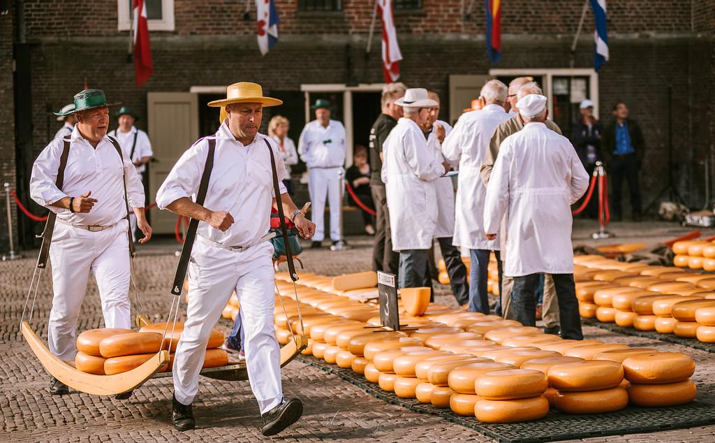 阿克馬起司市場 Alkmaar 體驗荷蘭傳統 by 張威廉 Wilhelm Chang