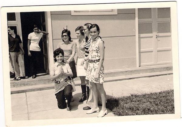 Dundo Guida Cerejeira, Lisa Pereira, Luisa Aragao e Brito, Tita Canhao Veloso e Augusta Madureira