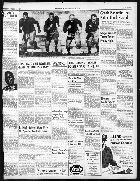 Daily Trojan, Vol. 31, No. 23, October 17, 1939