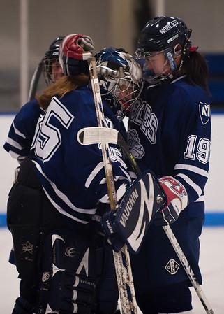 1/17/2009 - Nobles Girls Varsity Hockey vs Berkshire