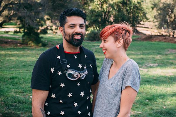 Wali & Jenny / Tapout / Santa Cruz, CA