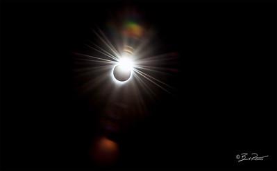 Solar Eclipse  Tetonia Idaho