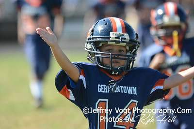 09-27-2014 South Germantown Panthers vs Damascus Cougars Super Tiny Mites, Photos by Jeffrey Vogt Photography by Kyle Hall