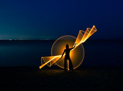 Light Painting @ Confederation Park