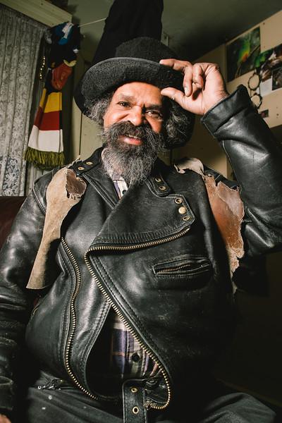 Indigenous Australian Man smiling