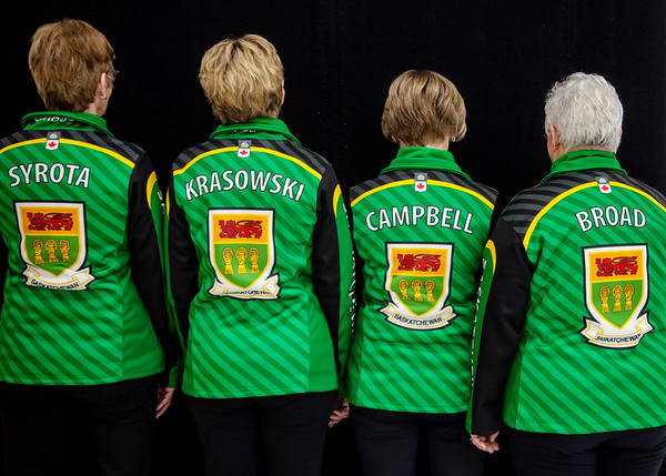 Team Photos - Canadian Masters Curling Championship 2019 Saskatoon