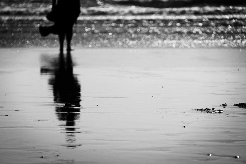 Reflection on the Beach