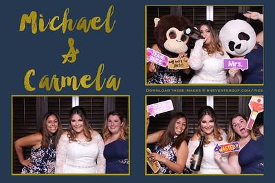 Michael & Carmela @ Lake Mohawk CC