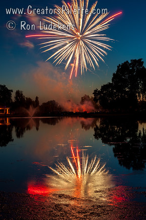 3rd of July Fireworks 2014 at Visalia Country Club
