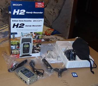 2012-06-22, Zoom H2 for sale