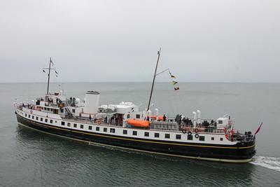 MV Balmoral at Llandudno - 2 July 2015