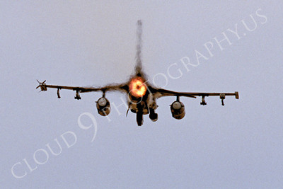 AFTERBURNER: US Air Force Lockheed Martin F-16 Fighting Falcon Jet Figher Afterburner Pictures