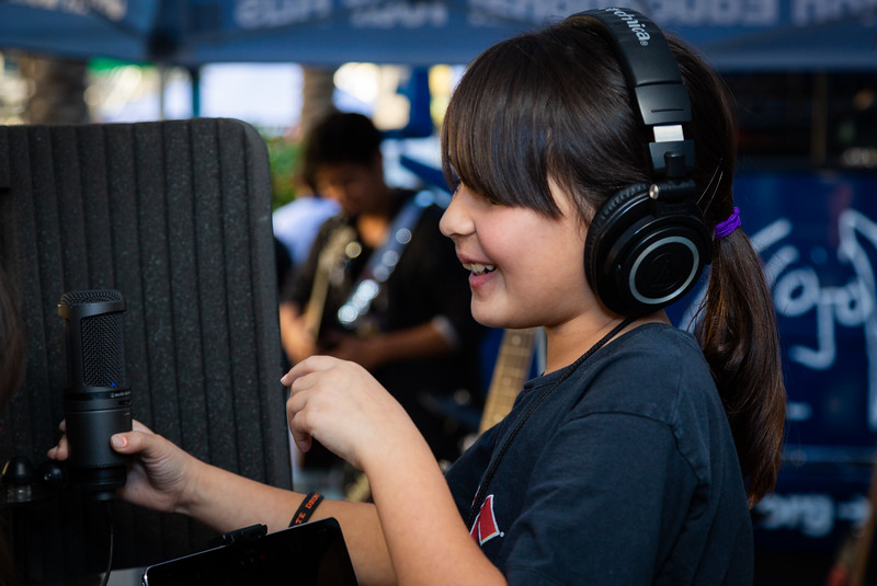 2019, Anaheim, Audio-Technica, CA, Creator's Station, NAMM, Tents