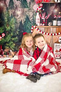 Christmas 2017 Addison and Brody
