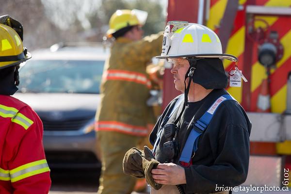 Structure Fires, Kentville Nova Scotia, April 2, 2019