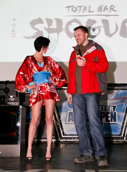 Total War: Shogun 2 launch in Kiev