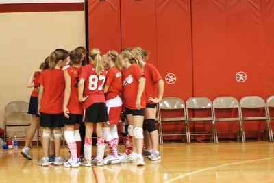 Sacred Hearts Volleyball - 9/6/2008