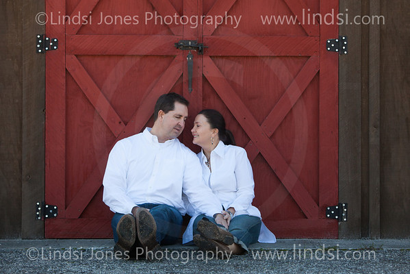 Shannon and Dave - Engagement portraits