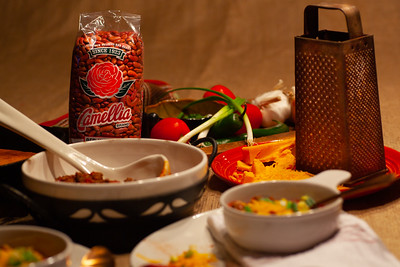 Southern Woods Chili with Camellia Brand Red Kidney Beans
