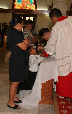 Mt. Carmel Communion 2010 Celebrants receiving communion