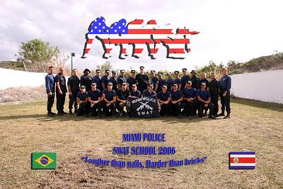 2006 Miami Police SWAT School