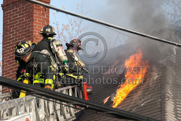 Boston MA - 3 Alarms for 87 Linden St
