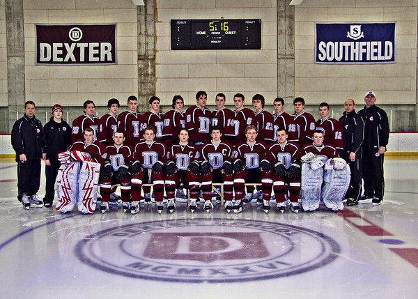 Dexter Hockey Team Pics 2008-2009