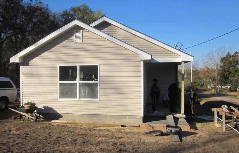 Alethia Starling's new Fuller Center home in Lumpkin, Ga.