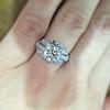 1.95ct Old European Cut Diamond Art Deco Ring, GIA L SI1 6