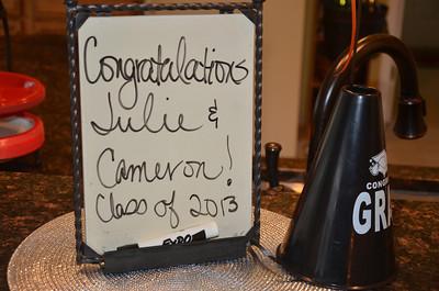2013-06-09 MMHLG Senior Night Honoring Julie Adkins and Cameron Botes