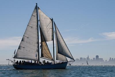 The Great Schooner Race - August 29, 2009