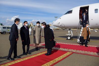 Япон Улсын Гадаад хэргийн сайд Т.Мотэги албан ёсны айлчлал хийж байна