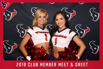 June 04, 2019 - Texans Club Member Meet & Greet