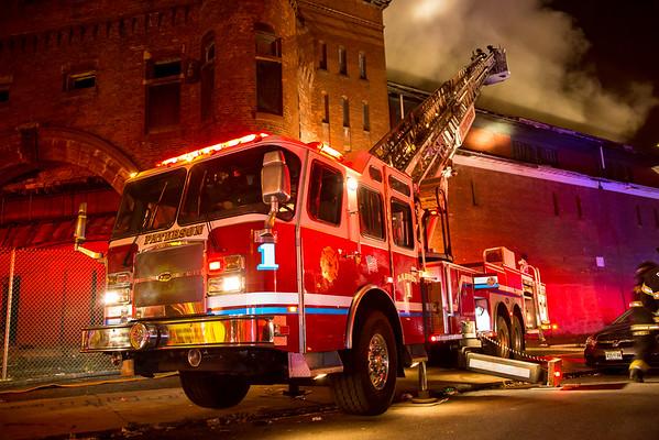 Paterson NJ 7th alarm, 465 Market St. 11-09-15