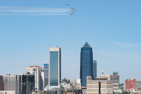 2020 AmericaStrong Blue Angels Flyover