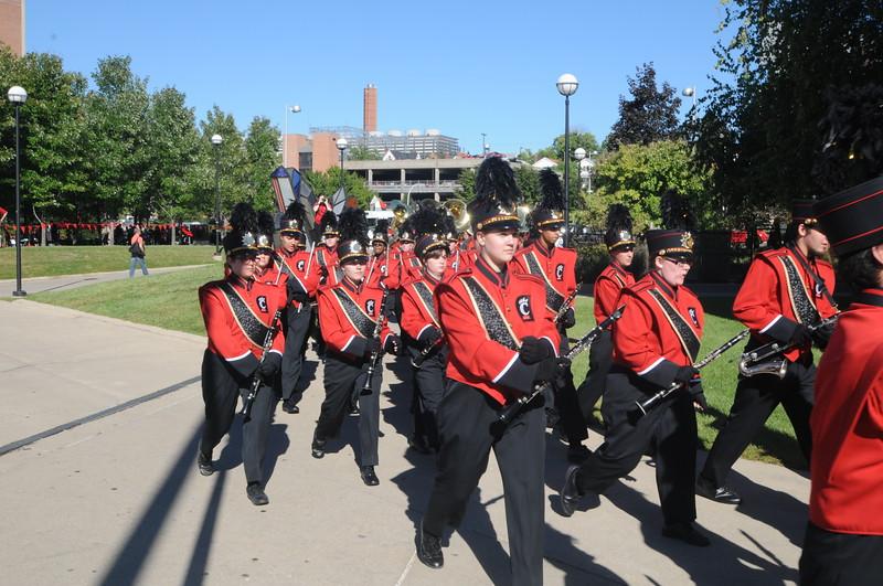 UC Band_UC vs Northwestern_Nippert Stadium_Cincinnati, OH