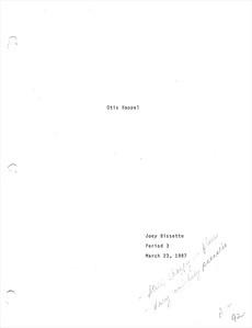 "1987 ""Otis Koppel"" Project"