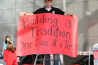 Beat Michigan Building a Tradition, One Can at a Time! 2007