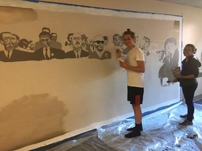2016 Visual Arts MLK F.A.M.E. Community Center Mural