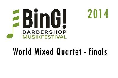 2014-0309 BinG! -World Mixed Quartet Finals